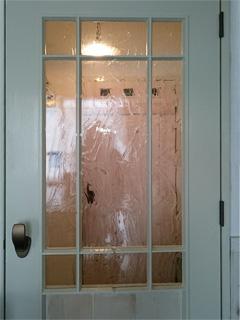 E様 室内ドアのガラス