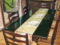 A様 ダイニングテーブルのテーブル天板