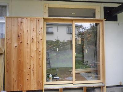 K様 住宅の掃出し窓