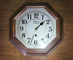F様 壁掛け時計のガラス(割れ替え)
