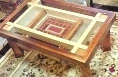 SI様 オリジナルテーブルのガラス
