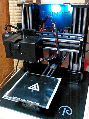 3Dプリンタ(TRINUS)のヒートベッド