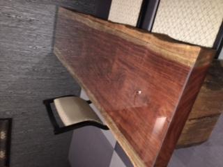 自宅のテーブル天板