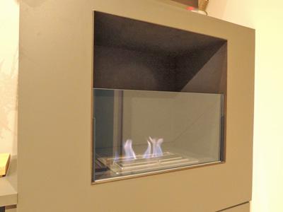 K.T様 エコスマート暖炉のガラス