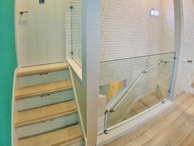 M.H様  階段横廊下手摺り代わり(落下防止)