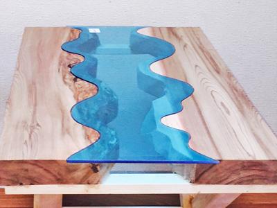 G様 テーブル装飾のガラス
