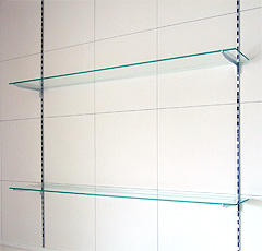 A.N様 壁付けガラス棚