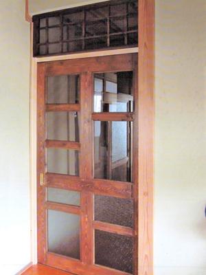 K.N様 屋内引き戸と格子欄間