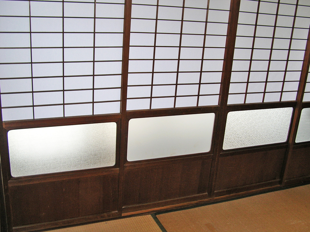 E.H様 和室障子ガラス