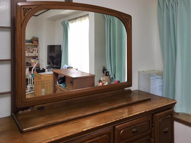 Y様 鏡台の交換用鏡