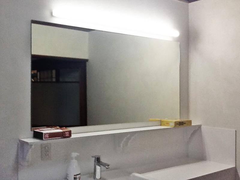 M様 洗面所鏡