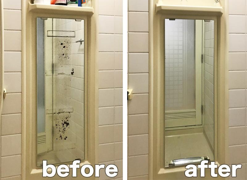 K.S様 浴室鏡交換