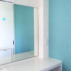 K 様 洗面所の鏡