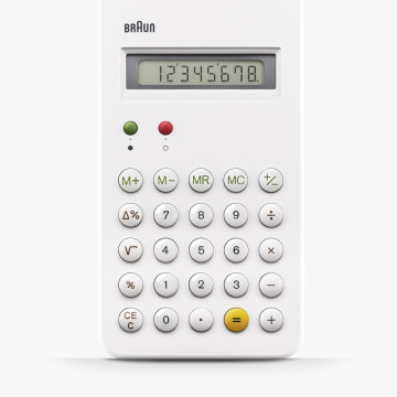 BNE001WH  ブラウン BRAUN 電卓