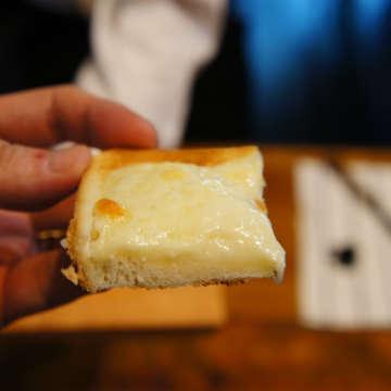 チーズトーストモードで焼いたチーズトースト