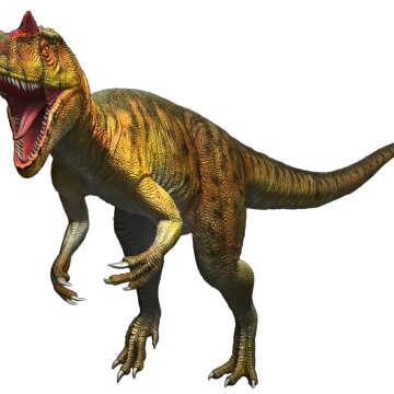 アロサウルス 復元画