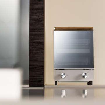 オーブントースター(タテ型)ATT-T11(シルバーのみ9月発売予定)