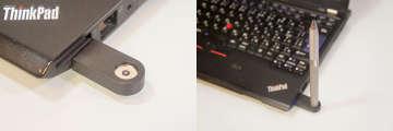 付属のUSB充電器にはマグネットが付いており、ペン先を上に向けて立てることで充電できるようになっている