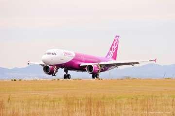 羽田から台湾の桃園国際空港絵の就航が決まったPeach。より手軽に台湾に行ける。