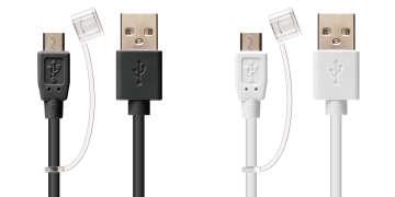 急速充電対応 micro USBケーブル 2A
