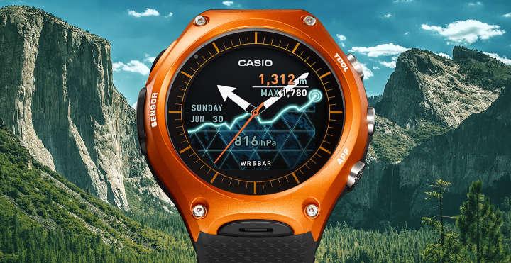 438ab03099 最近、進化しまくっているものといえば、アウトドア系ウォッチです。スマホと連携できるスマートウォッチもあれば、GPS搭載でナビゲーション機能が付い ているもの ...