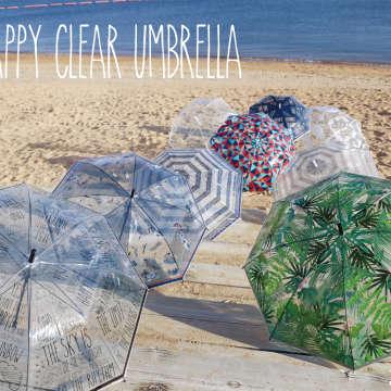 HAPPY CLEAR UMBRELLA