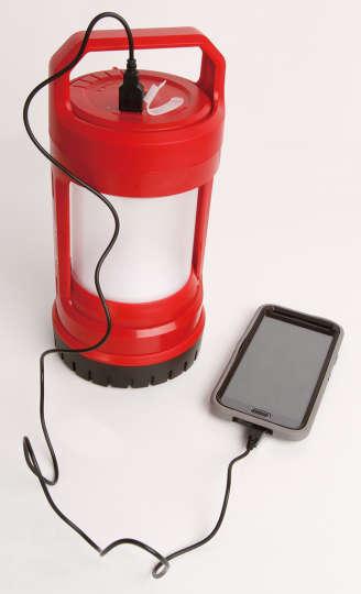 バッテリーロック(TM) LED充電式ランタン