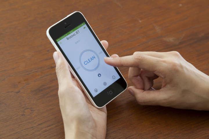 スマートフォンの「iRobot HOMEアプリ」対応