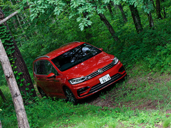 VW ゴルフ トゥーラン TSI Rライン