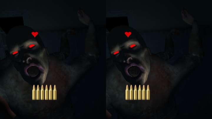 【BotsNew OF THE DEAD】襲いかかるゾンビに手で照準を合わせて攻撃するホラーゲーム。迫力のサウンドでさらに恐怖が倍増!?