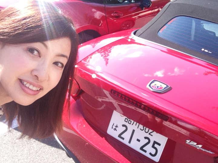 アバルト 124スパイダー×吉田由美さん