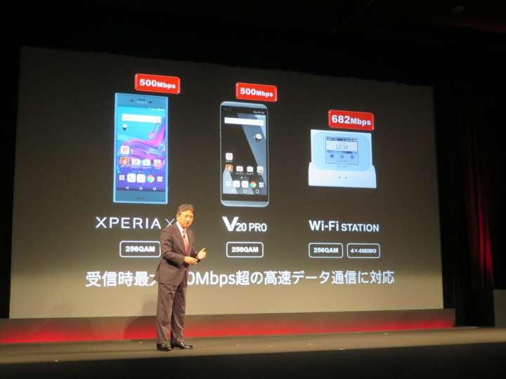来年3月には下り最大682Mbpsに対応するモバイルルーター「Wi-Fi Station N-01J」も発売