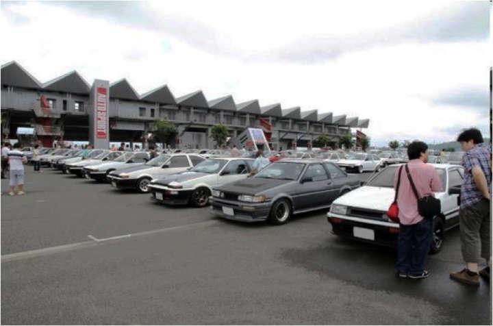 トヨタ AE86型 カローラ レビン/スプリンター トレノ