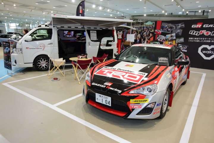 トヨタ 86 in TOYOTA GAZOO Racingラリーチャレンジ