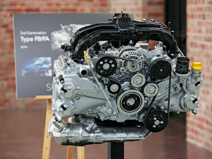 スバル FA型/FB型エンジン