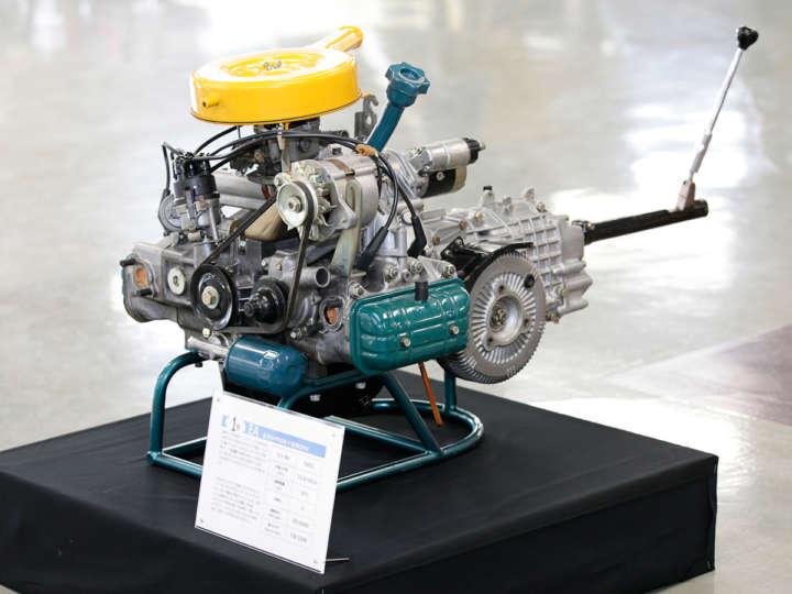 スバル EA型エンジン