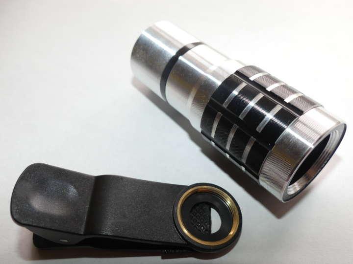 製品の仕組みは簡単で、レンズとシンプルなマウントのみ。