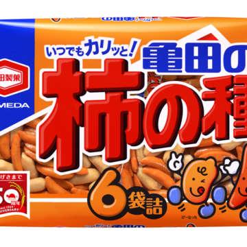 販売中 200g亀田の柿の種6袋詰