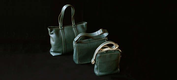カバンは、ユニセックスの定番ショルダーやトート、レディースで人気の2wayバッグなど全4型。価格は、3万9000円~6万4000円。