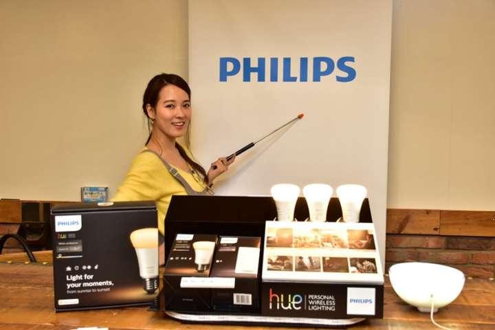 ▲フィリップスが2016年12月に発売したLED照明「Philips Hueシリーズ ホワイトグラデーション」