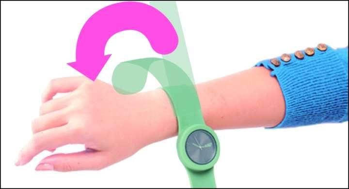 the best attitude 9bc77 4e8b1 金属アレルギーでも平気です!丸洗いできるシンプル腕時計 ...