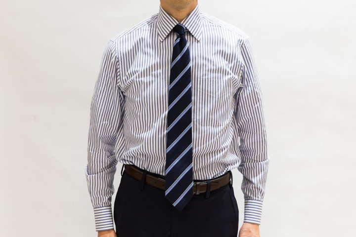 ネクタイが長い場合