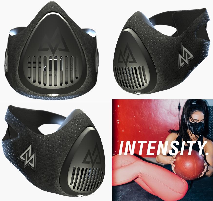 トレーニー注目の低酸素マスクで持久力を鍛えられます!