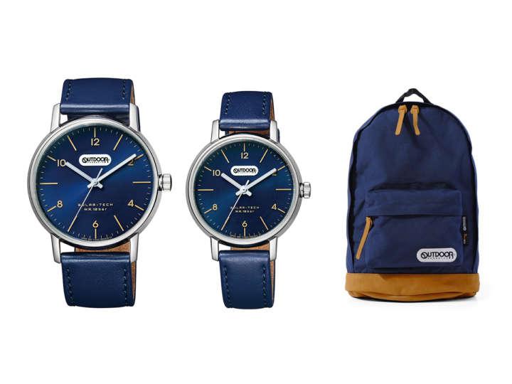 quality design 9b5e3 e0a4d 超定番リュックが腕時計に!気軽に使えるカジュアルウォッチ | &GP
