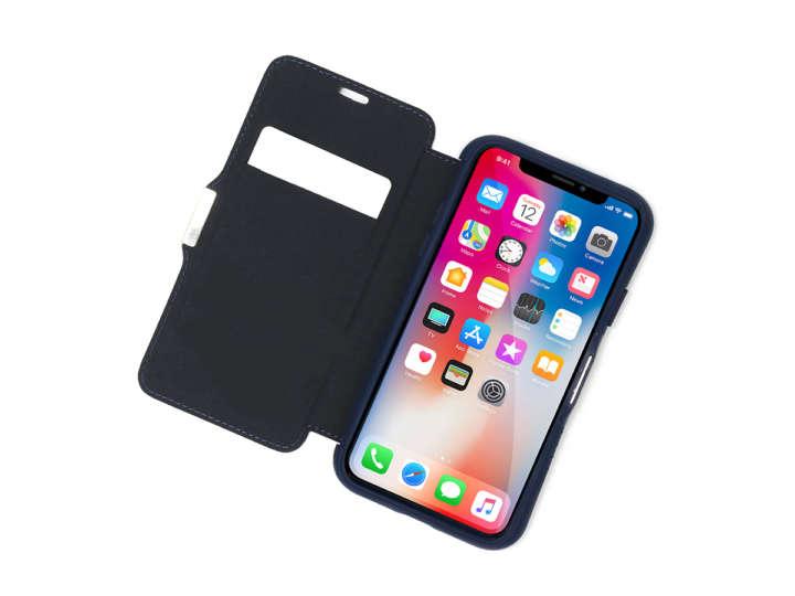 e0a03a6289 耐衝撃性ミルスペックな手帳型iPhoneケースは無線充電にも対応です | &GP