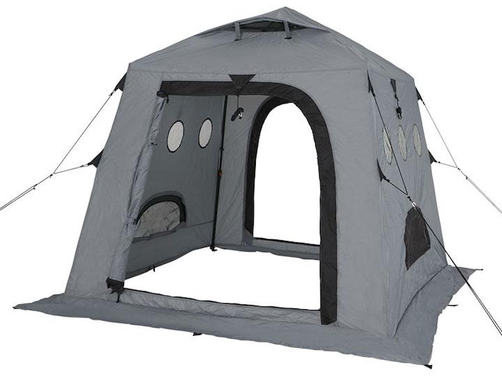 テント ワカサギ