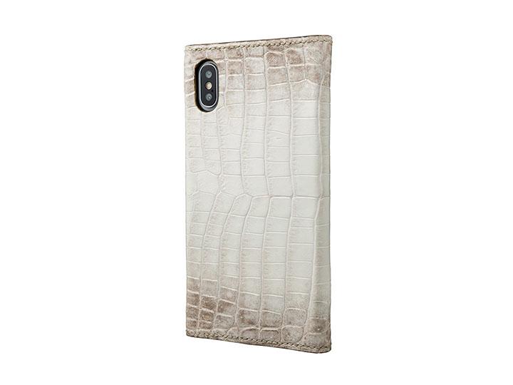 93cb3829399e そんな人のために生まれたのが「GRAMAS Meister Himalayas Crocodile×Elephant Leather Case for  iPhone XS/X・XS Max」です。