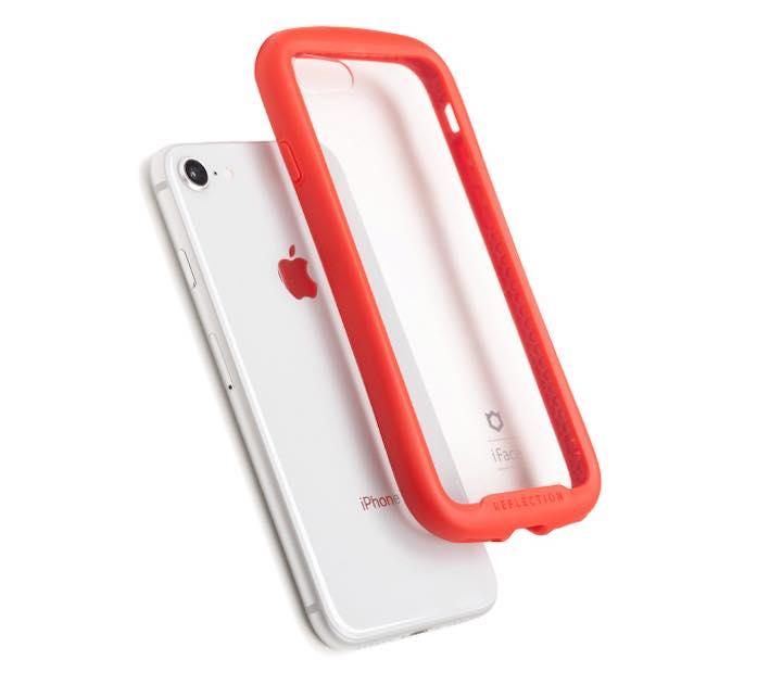 3387a67310 人気のiPhoneケースブランド「iFace」より、新たに登場した「iPhone 8/7専用 iFace Reflection(リフレクション)強化ガラス  クリアケース」。