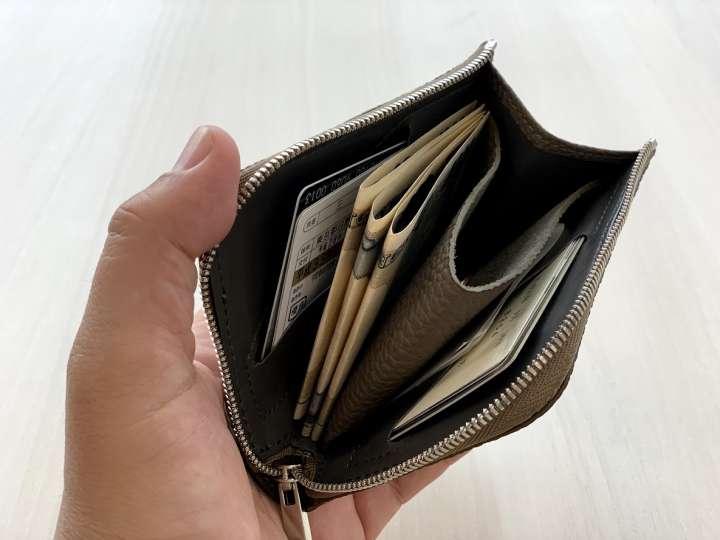 2ca3c1d69ba2 流行りのミニ財布で1週間キャッシュレス生活したら納得の使い心地でした   &GP - Part 2