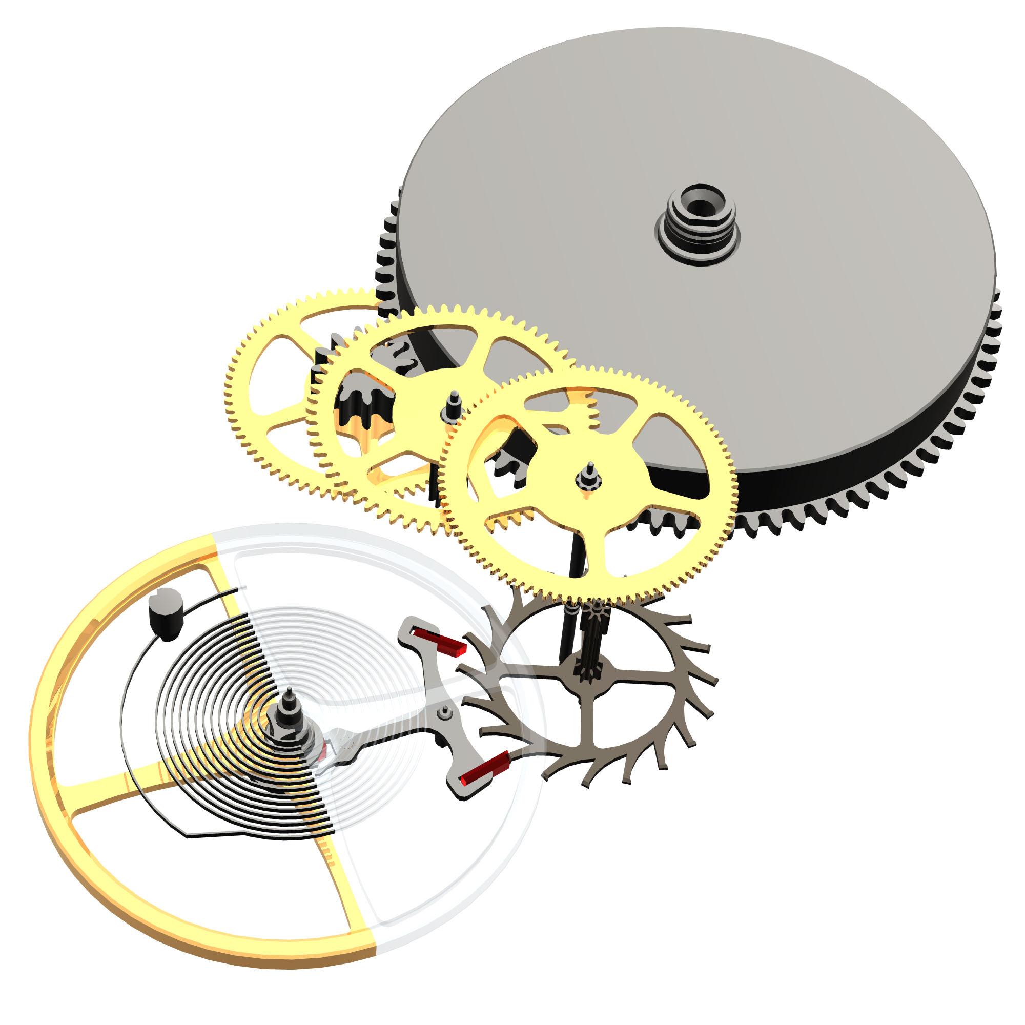 仕組み 機械 式 時計
